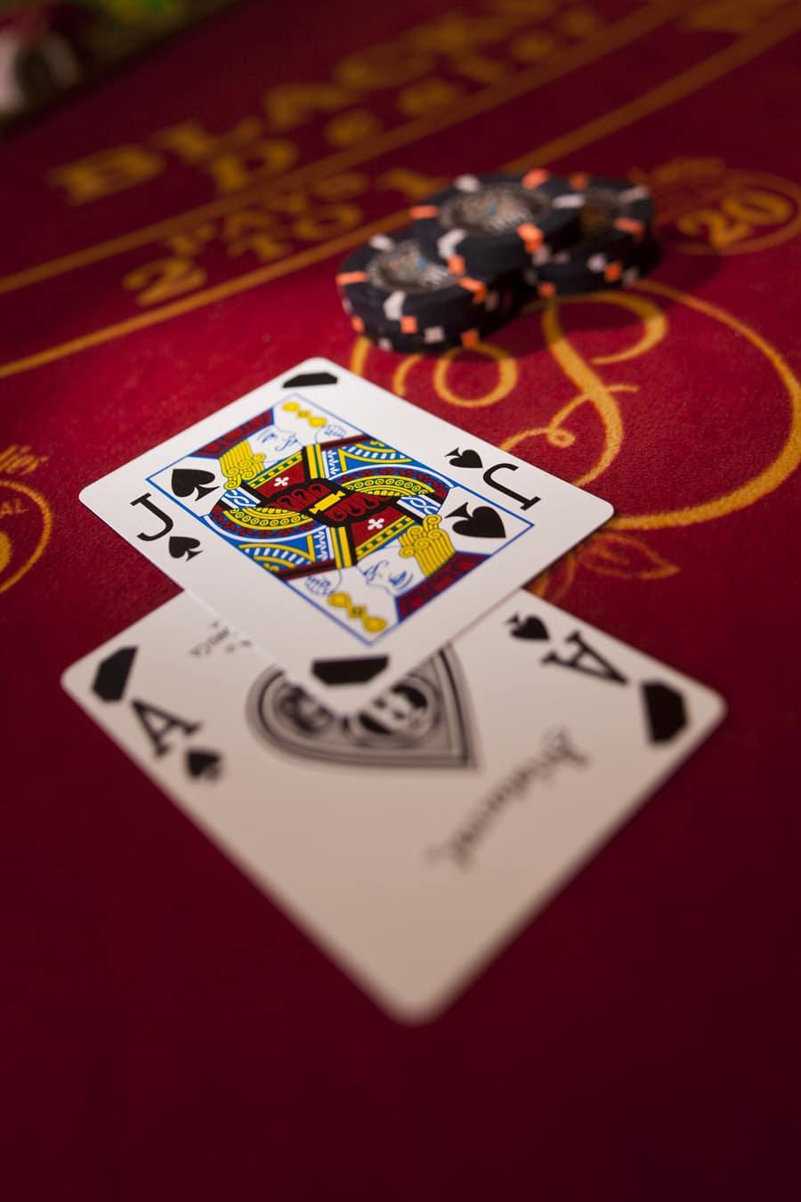 Remporter la manche au blackjack